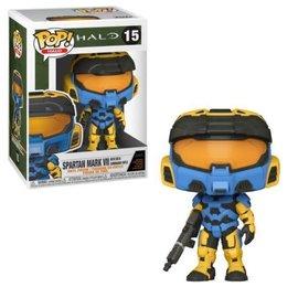 Funko Funko Pop! Halo - Halo - Spartan Mark VII With VK78 Commando Rifle (Blue) 15