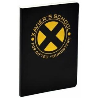 Funko Carnet de Notes - Marvel X-Men - Xavier's School for Gifted Youngsters Or et Noir