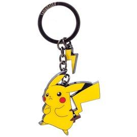 Funko Porte-clés - Pokémon - Pikachu avec Petite Éclair en Émail