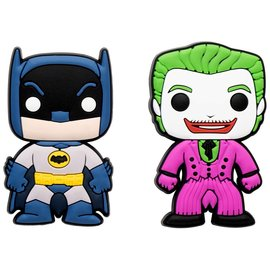 Funko Aimant - Funko Pop! DC Comics Batman Classic TV Series - Batman et Joker en Caoutchouc Ensemble de 2