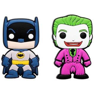 Funko Aimant - Funko Pop! DC Comics Batman Classic TV Series - Batman et Joker en Caoutchouc Ensemble de 2