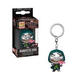 Funko Funko Pocket Pop! Keychain - Marvel Venom - Venomized Dr. Doom *Metallic GameStop Exclusive*