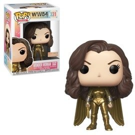 Funko Funko Pop! Heroes - WW84 Wonder Woman DC - Wonder Woman Golden Armor (Unmasked) 331 *BoxLunch Exclusive*