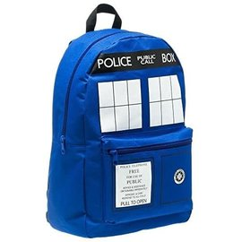 Bioworld Backpack - Doctor Who - Tardis Blue and White