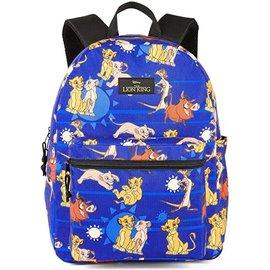 Bioworld Backpack - Disney The Lion King - Simba, Nala, Timon and Pumbaa