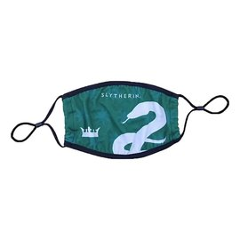 Bioworld Face Mask - Harry Potter - Slytherin House Green with Snake Face Cover