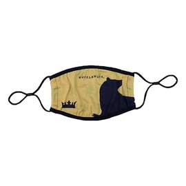 Bioworld Face Mask - Harry Potter - hufflepuff House Yellow with Badger Face Cover