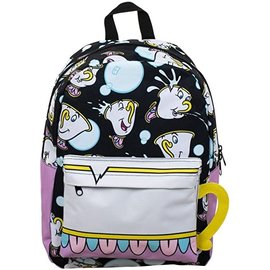 Bioworld Backpack - Disney The Beauty and the Beast - Chip Making Bubbles