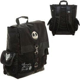 Bioworld Backpack - Disney Nightmare Before Christmas - Jack Metal Logo Simply Meant to be Black