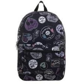 Bioworld Backpack - Disney The Nightmare Before Christmas - Various Stylized Characters Black