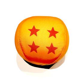 """Bandpresto Peluche - Dragon Ball Z - Boule à 4 Étoiles Style Hacky 4"""""""
