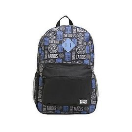 Bioworld Backpack - Doctor Who - Tardis Time Lord Blue and Black
