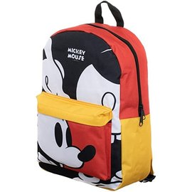 Bioworld Backpack - Disney - Mickey Mouse Classic Red and Yellow