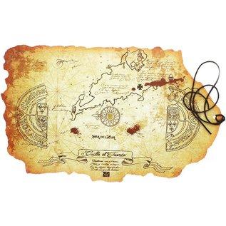 Import Affiche - The Goonies - Carte au Trésor en Canvas