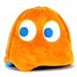 Kidrobot Peluche - Pac-Man - Fantôme Orange Clyde Réversible 4""