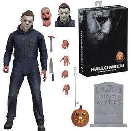 "NECA Figurine - Halloween - Ultimate Michael Myers Articulée Avec Pièces Interchangeables 7"""