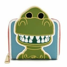 Loungefly Wallet - Disney Pixar Toy Story - Rex Funko Pop Faux Leather