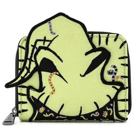 Loungefly Wallet - Disney The Nightmare Before Christmas - Oogie Boogie with Insects Nylon