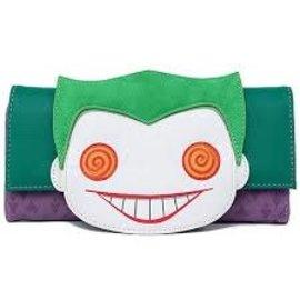 Loungefly Wallet - DC Comics - The Joker Funko Pop Faux Leather