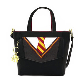 Loungefly Purse - Harry Potter - Gryffindor Uniform Embroidered Faux Leather
