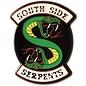 Ata-Boy Épinglette - Riverdale - Logo des South Side Serpents