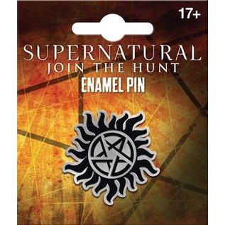 Ata-Boy Épinglette - Supernatural Join The Hunt -Pentagram