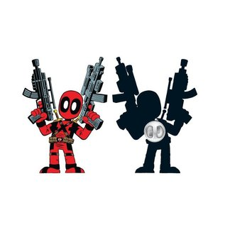 Bioworld Épinglette - Marvel - Deadpool en Cartoon