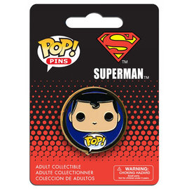Funko Lapel Pin - DC Comics - Funko Pop Superman