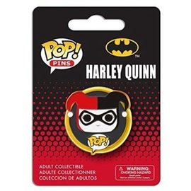 Funko Lapel Pin - DC Comics - Funko Pop Harley Quinn