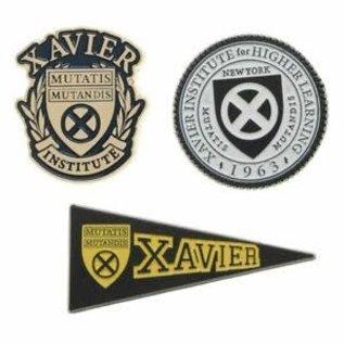 Bioworld Épinglette - Marvel X-Men - Xavier's Institute Ensemble de 3