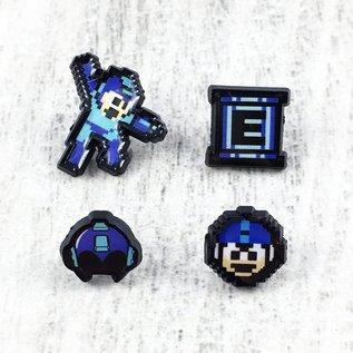 Bioworld Épinglette - Mega Man - Ensemble de 4