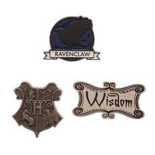 Bioworld Épinglette - Harry Potter - Serdaigle Wisdom Ensemble de 3
