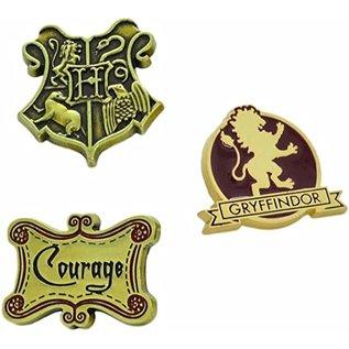 Bioworld Épinglette - Harry Potter - Gryffondor Courage Ensemble de 3