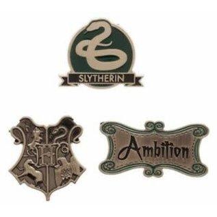 Bioworld Épinglette - Harry Potter - Serpentard Ambition Ensemble de 3