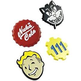 Bioworld Lapel Pin - Fallout - Set of 4