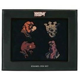 Dark Horse Épinglette - Hellboy - Ensemble de 4 avec Boîte