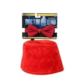 Bioworld Hat - Doctor Who - Set of Fez and Bow Tie *Clearance*
