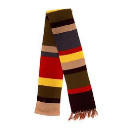 Elope Foulard - Doctor Who - Quatrième Docteur Multicolore Mince