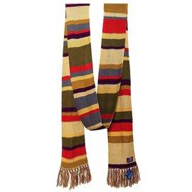 Elope Foulard - Doctor Who - Quatrième Docteur Multicolore 12'