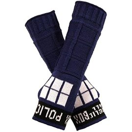 Elope Gloves - Doctor Who - Hand-warmer Tardis Acrylic
