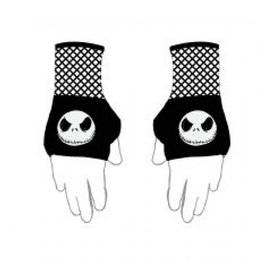 Bioworld Gloves - Disney The Nightmare Before Christmas - Jack Face Fish-net