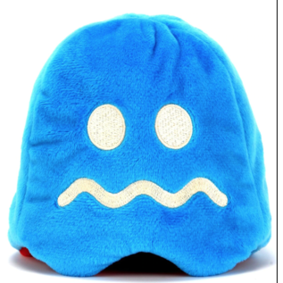 "Kidrobot Peluche - Pac-Man - Fantôme Rouge Blinky Réversible 4"""