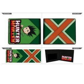 Bioworld Portefeuille - Hunter X Hunter - Gon Freecss en Faux Cuir Vert Bifold