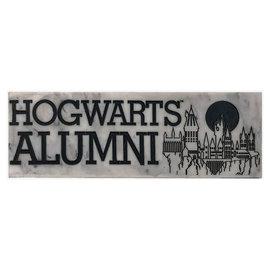 Spoontiques Desk Sign - Harry Potter - Hogwarts Alumni