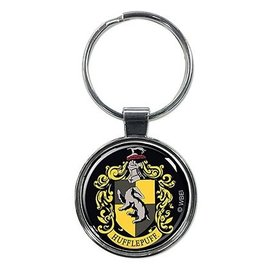 Ata-Boy Keychain - Harry Potter - Hufflepuff Crest Round