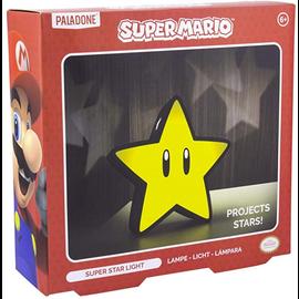 Paladone Lamp - Nintendo Super Mario - Super Star Light