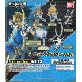 Bandai Gashapon - The Legend of Zelda Breath of the Wild - Porte-clés Figurine