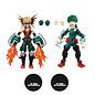 "The Loyal Subjects Figurine - My Hero Academia - Izuku Midoriya et Katsuki Bakugo Ensemble de 2 7"""