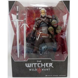 McFarlane Figurine - CD Projekt Red - The Witcher 3 Wild Hunt Geralt of Rivia 12""