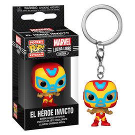 Funko Funko Pocket Pop! Keychain - Marvel Lucha Libre Edition - El Héroe Invicto